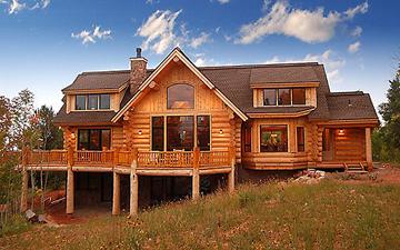 ICC ENews - Modern log cabin homes