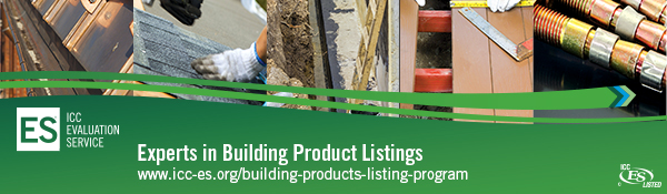 Experts in Building Product Evaluation