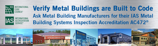 Metal Building Accreditation AC472